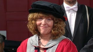 Professor Fiona Stafford - Honorary Degree - University of Leicester