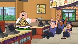 Peter get free tacos with his new best friend | family guy~