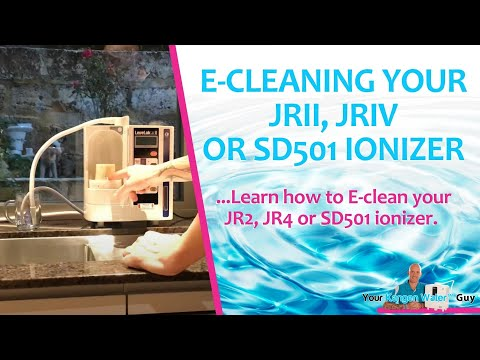 How To Clean Your Enagic® Kangen Water™ JR2, LeveLuk R, & SD501 Unit