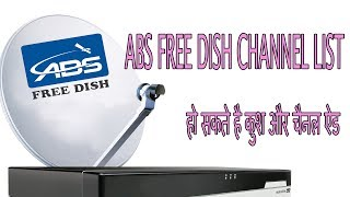 ABS FREE DISH  KE CHANNEL LIST