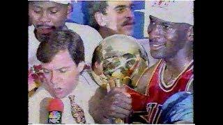 1993 NBA Finals Game 6 Bulls vs. Suns (full TV broadcast)
