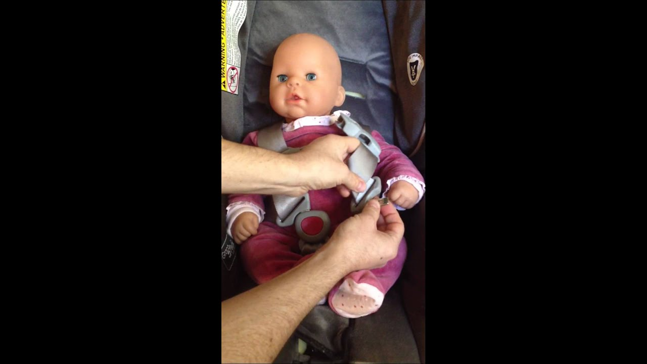 How To Untwist Car Seat Straps The Ladys Triangle Trick