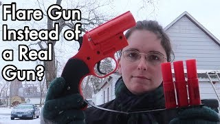 Flare Gun Instead of a Real Gun? as Personal Protection? Firework? Fun? PUBG?