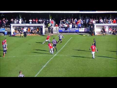 Extended Highlights Stafford Rangers v FC United of Manchester 21/09/13