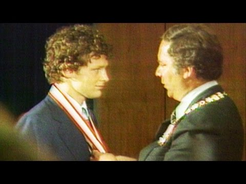 Sept. 18, 1980: Humble Terry Fox receives Order of Canada