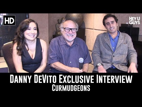 Danny DeVito, Jake DeVito & Lucy DeVito on their short film Curmudgeons