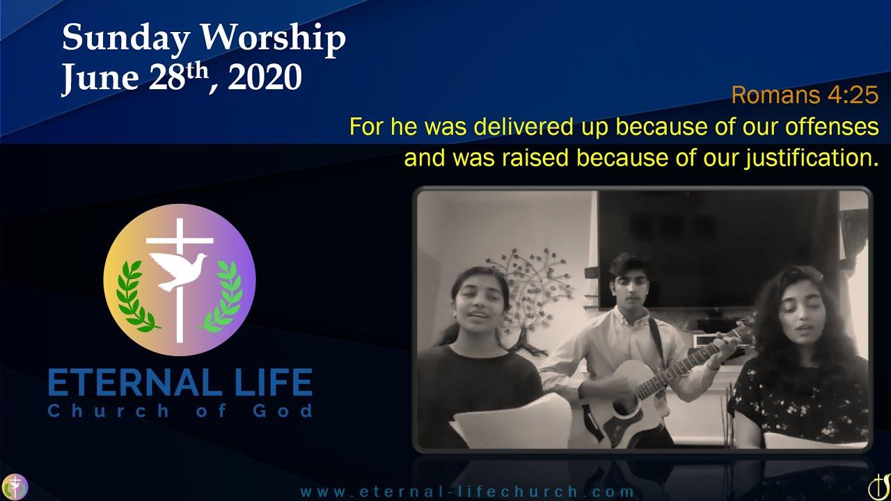 Sunday Worship - June 28th
