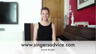 Twang Vocal Technique - Sarah Brickel Singers Advice