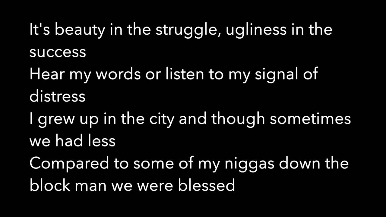 Love And Struggle Quotes Love Yourz Lyrics  J Cole  Youtube