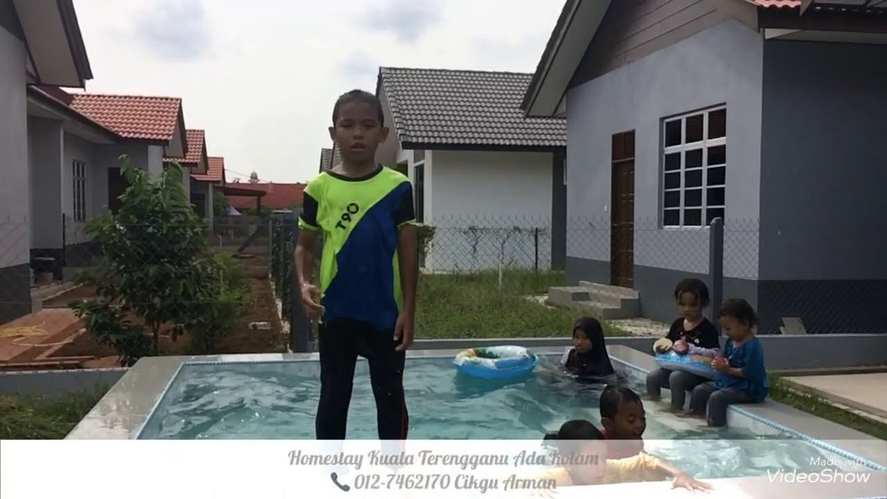 Homestay Kuala Terengganu Swimming Pool Youtube