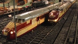 Oldest and largest 0 Scale Model Train Layout in Europe