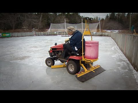 This Lawnmower-turned-ice Resurfacer Is A Hit In Boutiliers Point, Nova Scotia