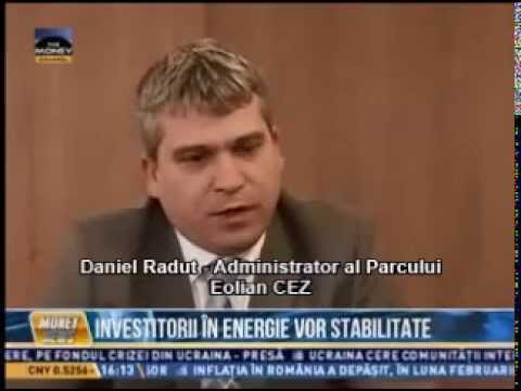 Daniel Radut, Administrator al Parcului Eolian CEZ - Money News