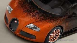 Bugatti Veyron Grand Sport Bernar Venet 2012 Videos
