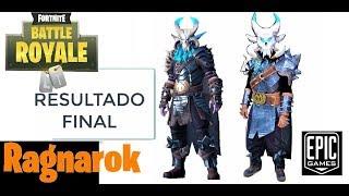 Make Ragnarok Costume - Cosplay real fortnite step by step - Calamity