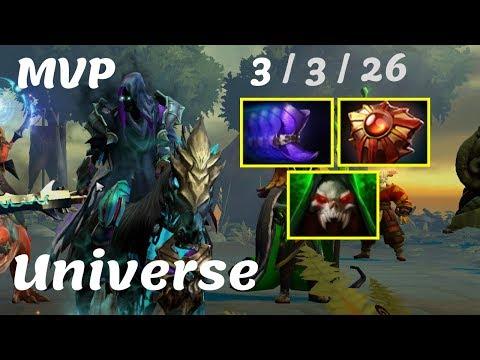 Universe Abaddon - MVP Safe Lane against SVG Highlights Gameplay Dota 2 7.22g