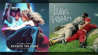 Download Lagu Zac Efron & Zendaya vs. Lukas Graham - Rewrite the Stars (Mashup) Mp3