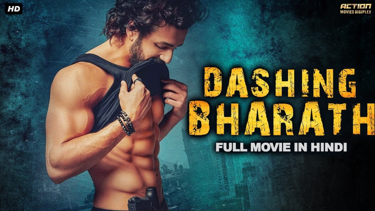 DASHING BHARATH - Superhit Hindi Dubbed Full Romantic Movie | South Indian Movies Dubbed In Hindi