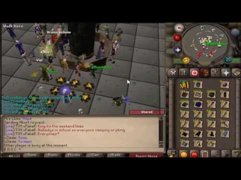 Old School Runescape (2007) R A G C 1-99 Slayer Tab