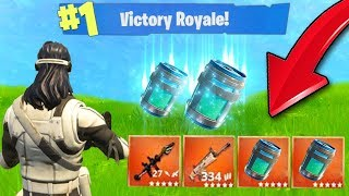 *NEW* LEGENDARY DOUBLE CHUG JUG! (Fortnite Battle Royale Chug Jug Update)