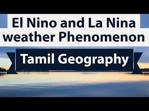 Tamil Geography -- El Nino and La Nina weather Phenomenon - Climatology TNPSC/UPSC/IAS