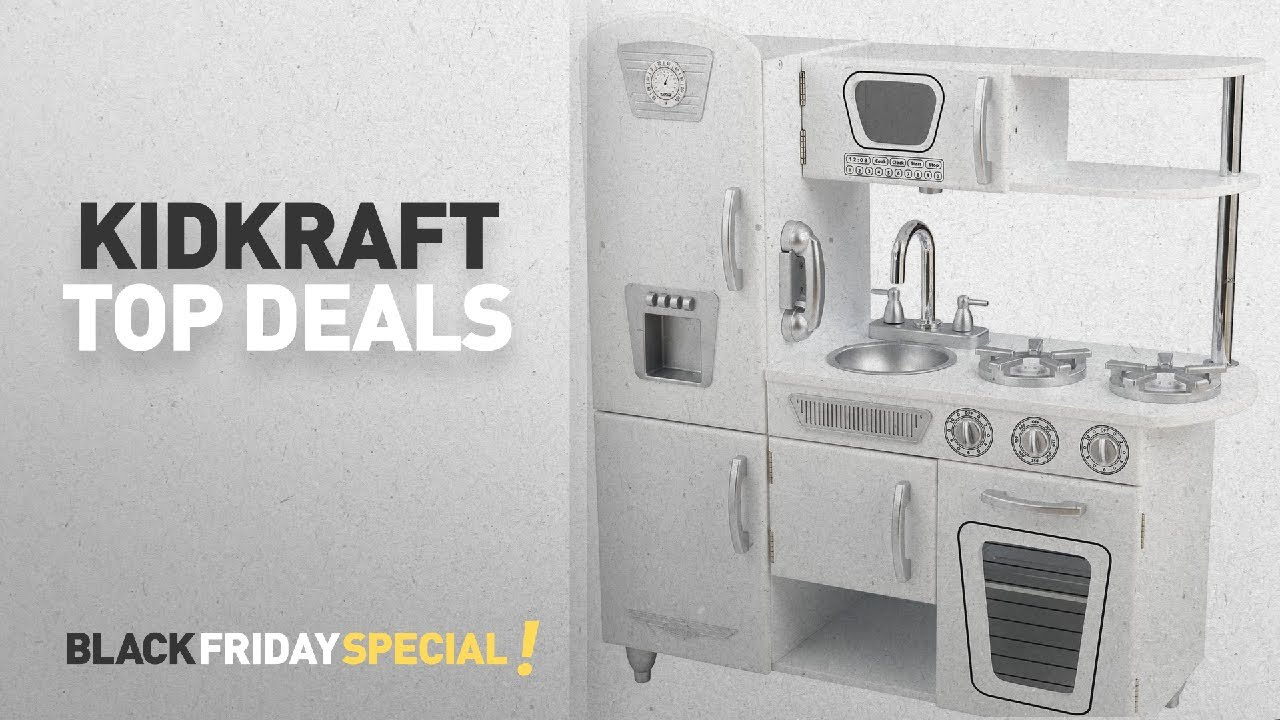 KidKraft Black Friday Featuring: KidKraft Vintage Kitchen - White ...