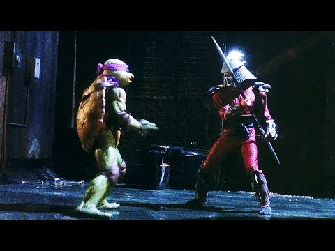 Turtles vs Shredder  Teenage Mutant Ninja Turtles 1990