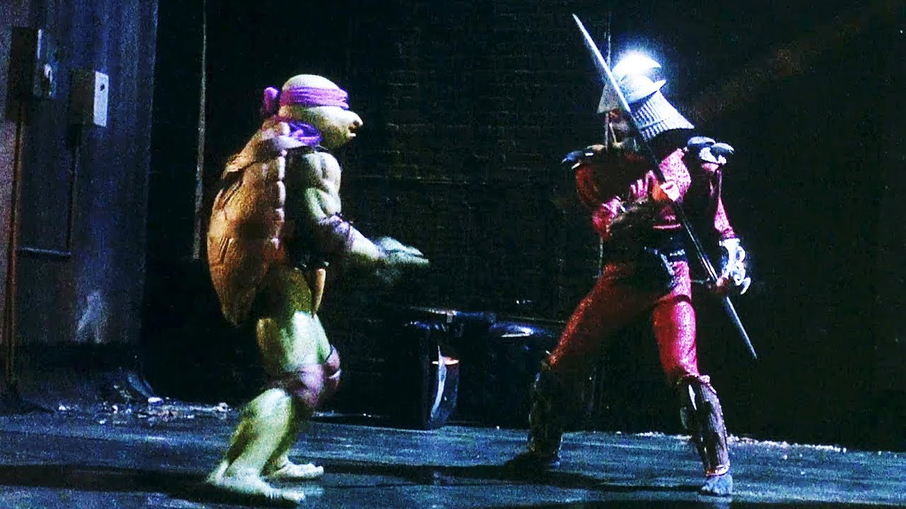 Turtles vs Shredder | Teenage Mutant Ninja Turtles (1990 ...