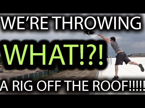 After Blindfolding Our COO, He Went AWOL And THREW A Mining Rig OFF THE ROOF!!!