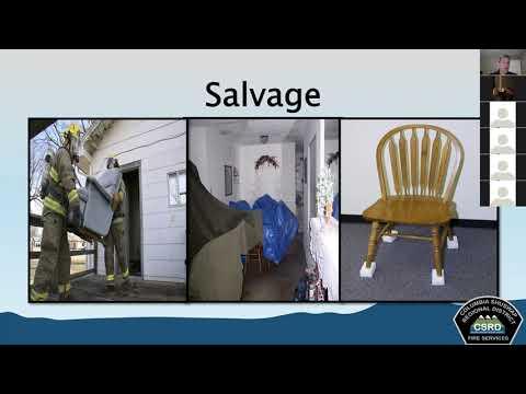 Fire Training Course - Salvage & Overhaul