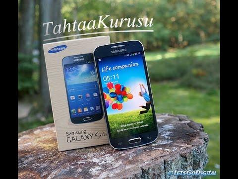 Samsung Galaxy S4 Mini Kutu Açılımı + İnceleme #TahtaaKurusu