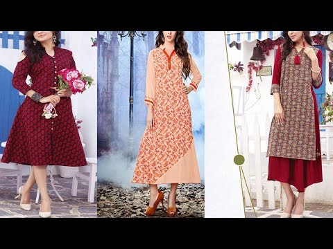 Elegant Indian Pakistani Collection For Girls//Latest Kurti Designs Collection 2018-2019