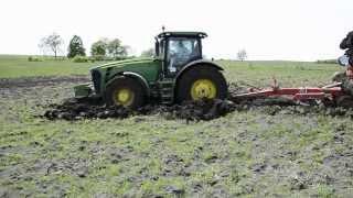 John Deere in mud / John Deere im Schlamm [ Full HD ]