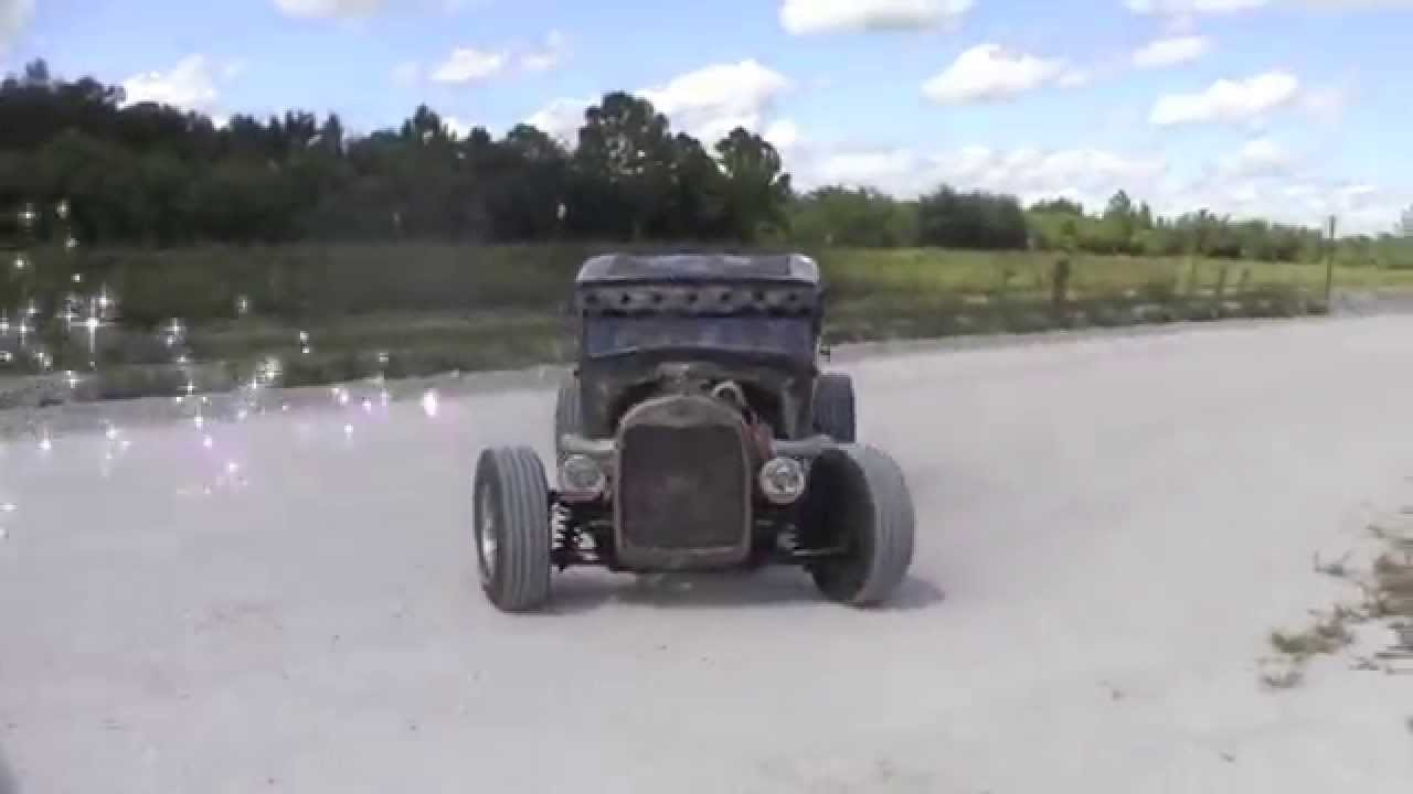Rat Rod build 1929 Ford Model A first car build from ground up - YouTube
