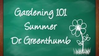 Gardening 101 by Dr. Greenthumb
