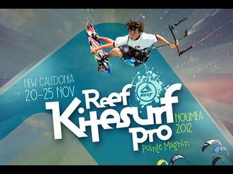 2012 PKRA REEF Kitesurf Pro New Caledonia -Double Elimination-