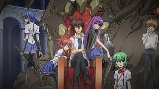 Ichiban Ushiro no Daimaou  Князь тьмы с задней парты   5 эпизод 1 сезон озвучка от Ancord