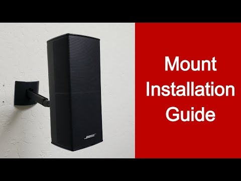how-to-install-speaker-mount-for-bose-cinemate-speakers