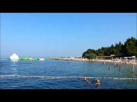 Хорватия.Пореч.Море,пляж,чистая вода.