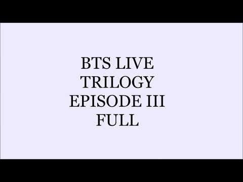 [ENG SUB] BTS LIVE TRILOGY EPISODE III WINGS TOUR IN SEOUL
