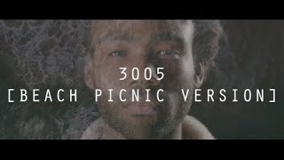 Childish Gambino - 3005 [Beach Picnic Version] (Fan Made Music Video)