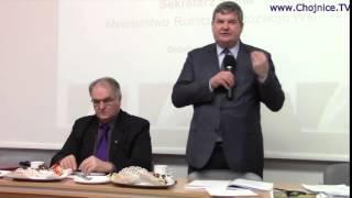 Debata rolna z pytaniami o żurawie i kormorany