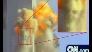9/11 Evidence of (Controlled Demolition)Bombs Devil Face in Smoke