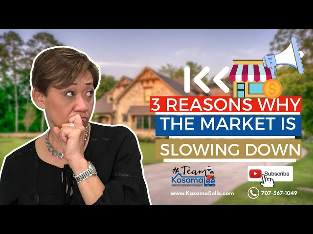 3 Reasons Why The Market is Slowing Down   Kasama Lee