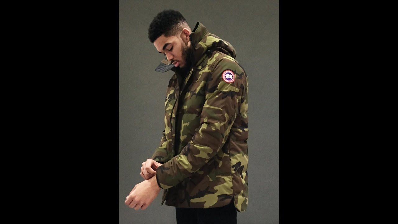 FALL/WINTER STAPLE : Canada goose jacket Classic camo