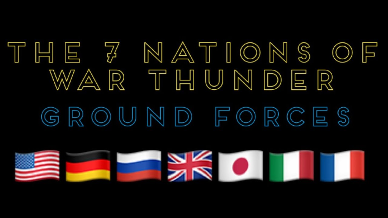 war thunder nations