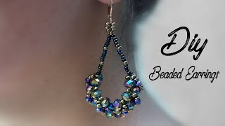 Beaded Earrings | DIY Earrings | DIY gift