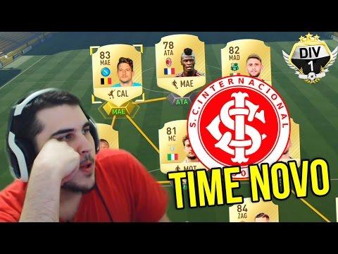 TIME NOVO REBAIXADO? - Rumo à Primeira #27 - FIFA 17