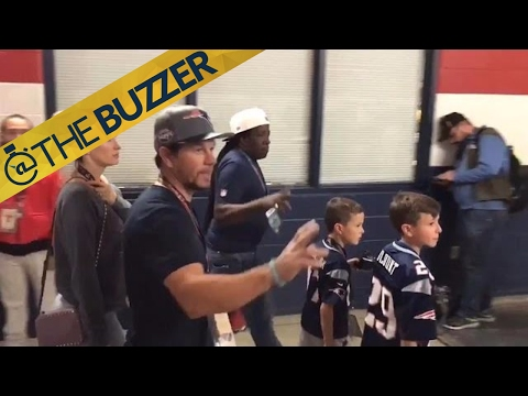 Mark Wahlberg left the Super Bowl early | @TheBuzzer | FOX SPORTS
