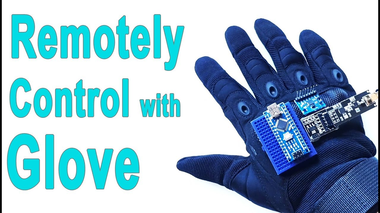 How to Make Arduino Gesture Control Robot | Wireless Glove Control | Mert  Arduino